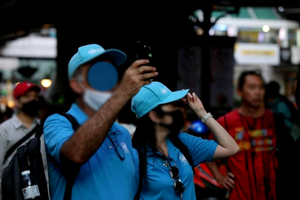 UN observers watched Thai youth and people protests in Bangkok. - C'mon » TikTokJa Video Downloader protests in Bangkok protests in Bangkok, Riot Bangkok, UN observers