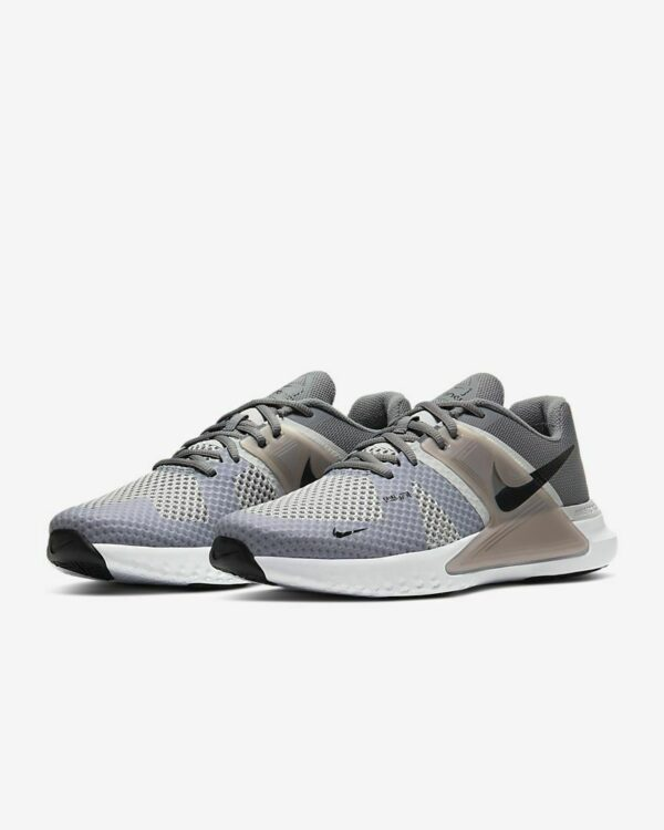 รองเท้าวิ่ง Nike Renew Fusion Grey Black CD0200-001 Men's NEW