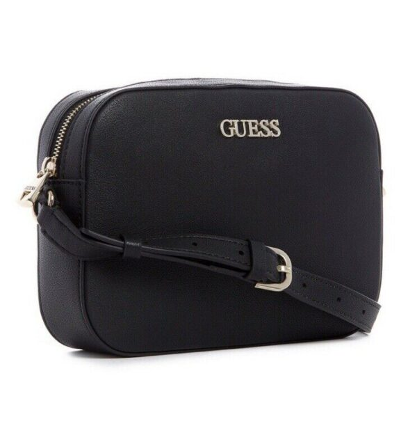 NWT Guess Utility Vibe Crossbody Bag Purse Black